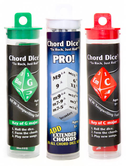 Chord Dice Deluxe Songwriting Package