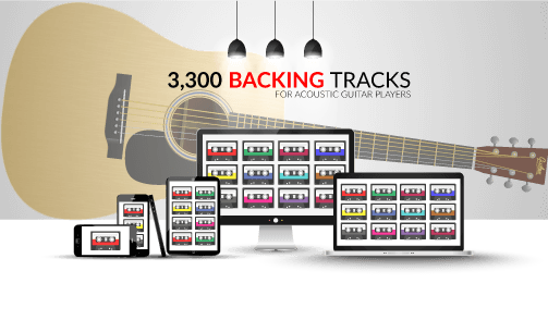 G Chord Backing Track For Guitar Players - Chord Dice